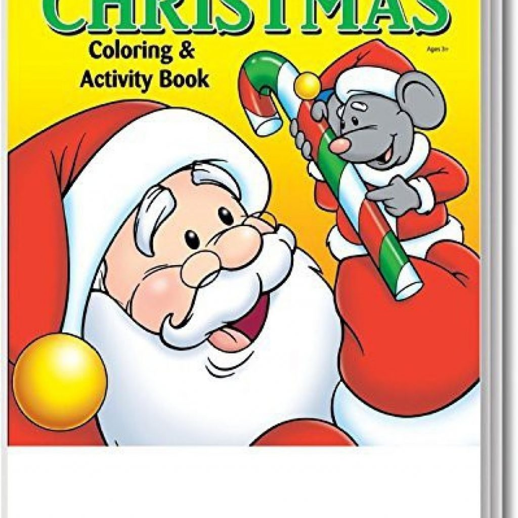 Christmas Coloring Books In Bulk With Safety Magnets Kid S Activity Book