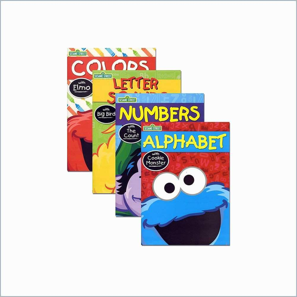 Christmas Coloring Books In Bulk With Sesame Street Marvelous