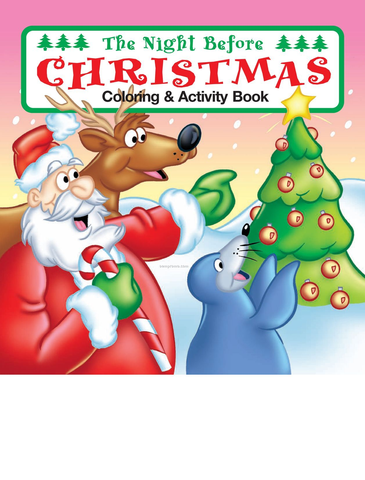 Christmas Coloring Books In Bulk With The Night Before Book China Wholesale