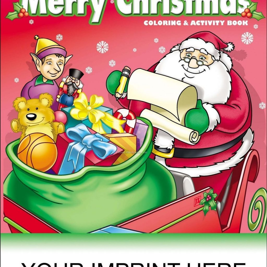 Christmas Coloring Books Wholesale With China Page20