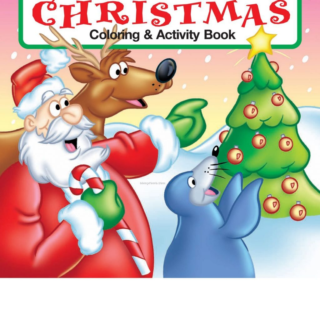 Christmas Coloring Books Wholesale With The Night Before Book China