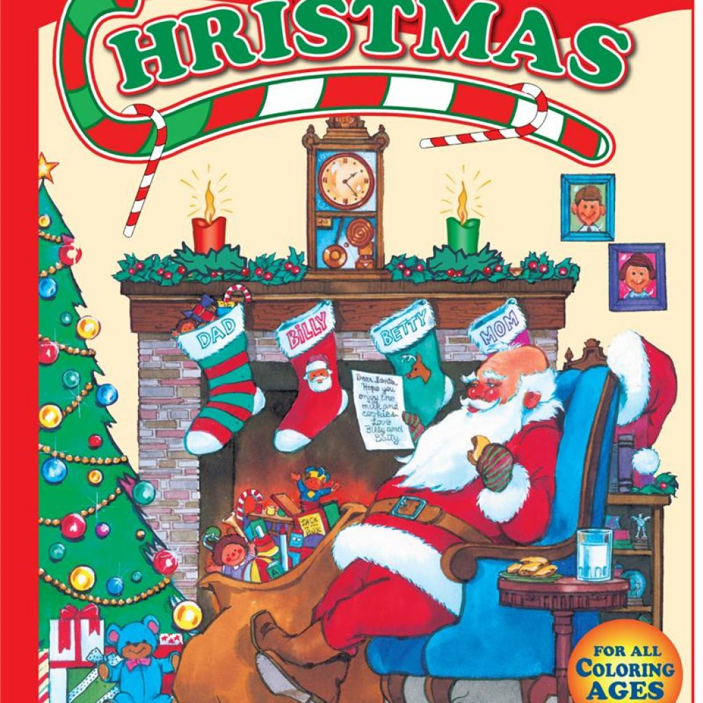 Christmas Coloring Books Wholesale With Twas Night Before Really Big Book