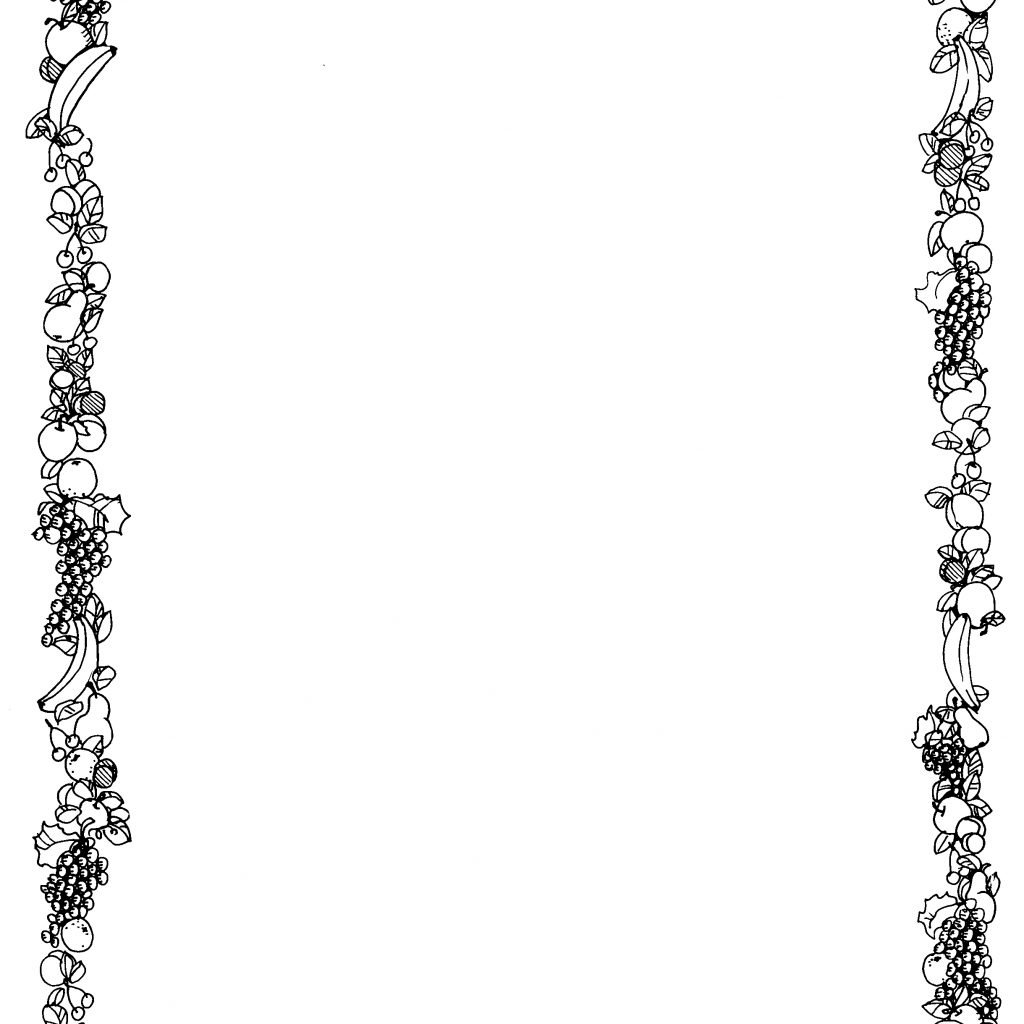 Christmas Coloring Borders Pages With Free For Pictures Download Clip Art