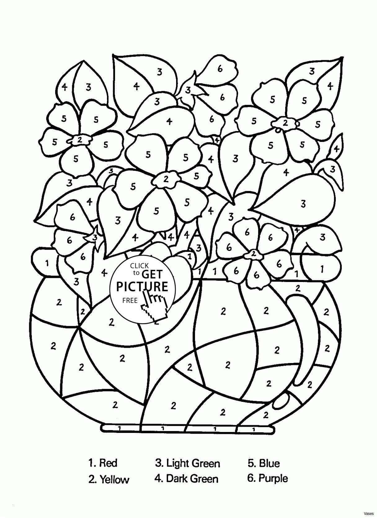 Christmas Coloring By Number With Color Pages 34