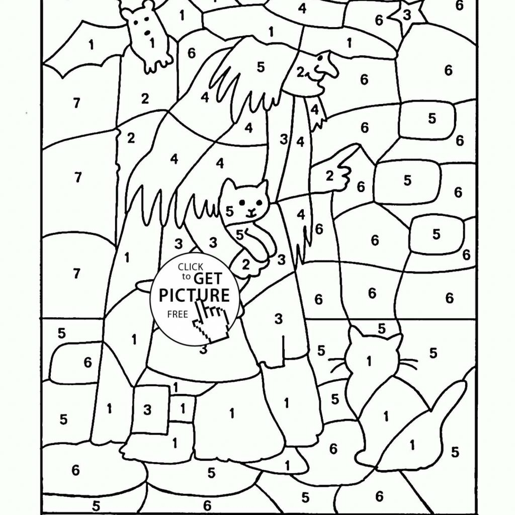 Christmas Coloring By Numbers Printable With Color Number Pages Fresh