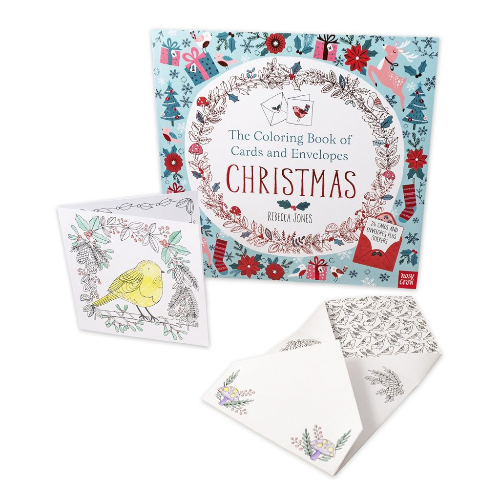 Christmas Coloring Cards With The Book Of And Envelopes Nosy Crow