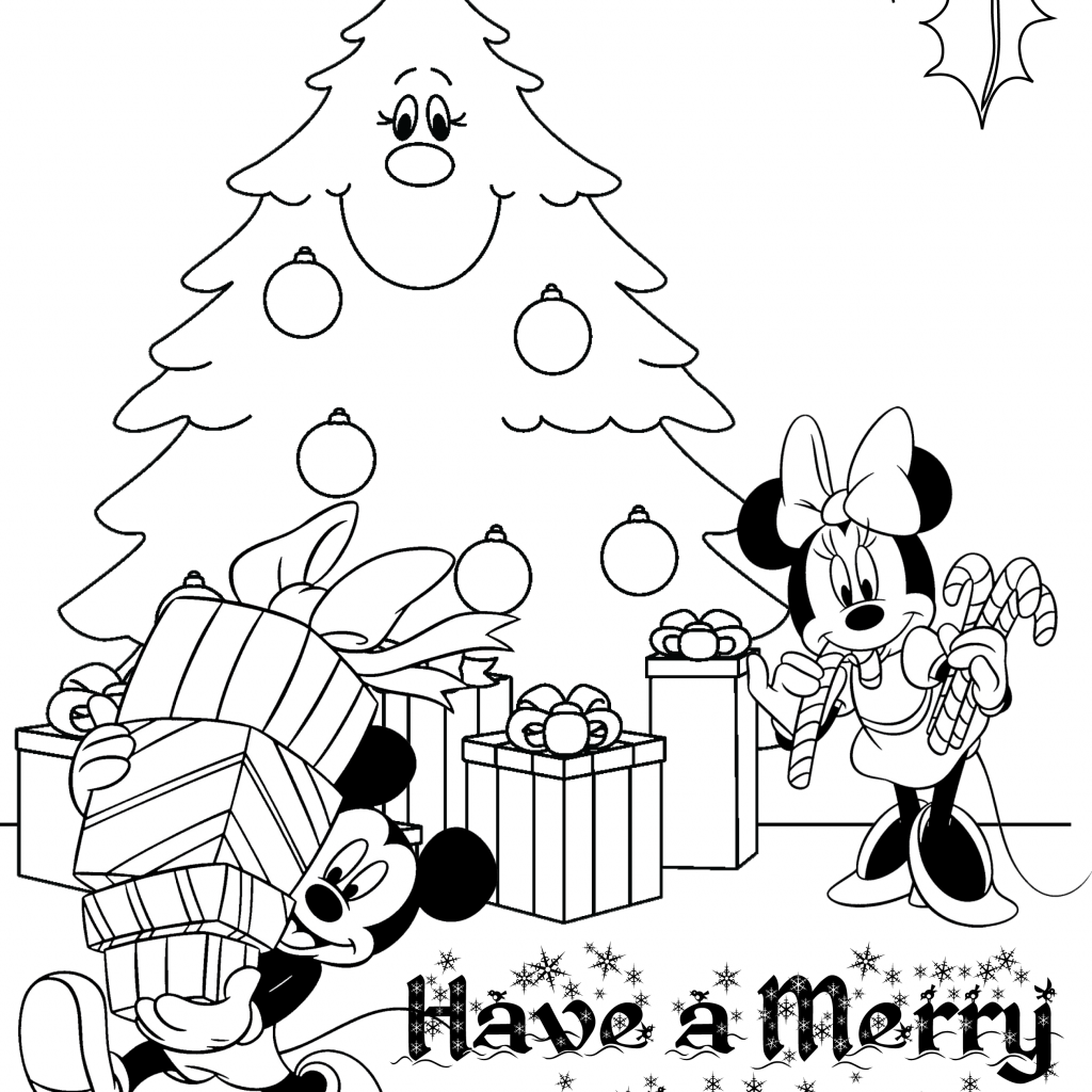 Christmas Coloring Contest With