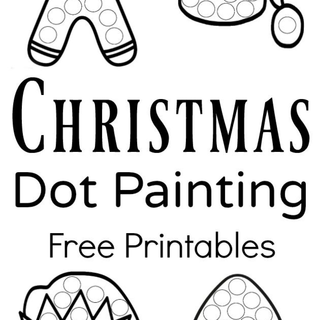 Christmas Coloring Crafts Printables With Free Printable Activities For Kindergarten