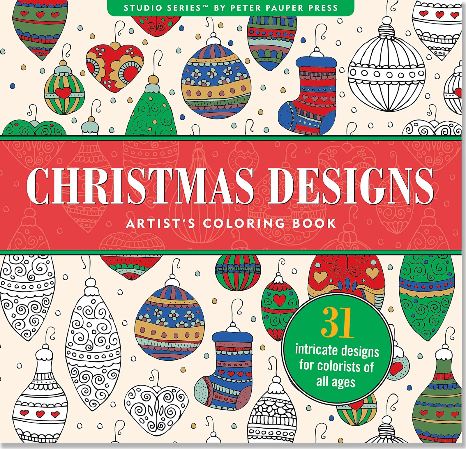 Christmas Coloring Designs With Mothering Times Books For Adults