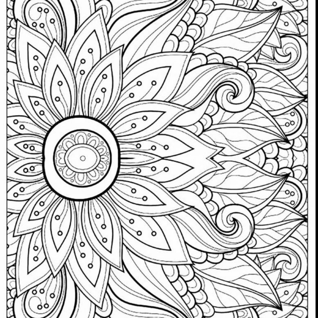 Christmas Coloring Difficult With Pages Printable