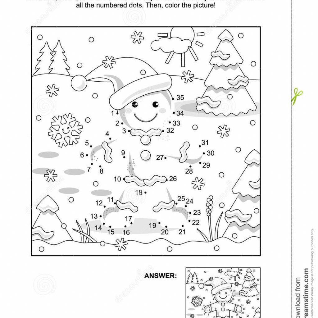 christmas-coloring-dot-to-with-and-page-ginger-man-stock-vector