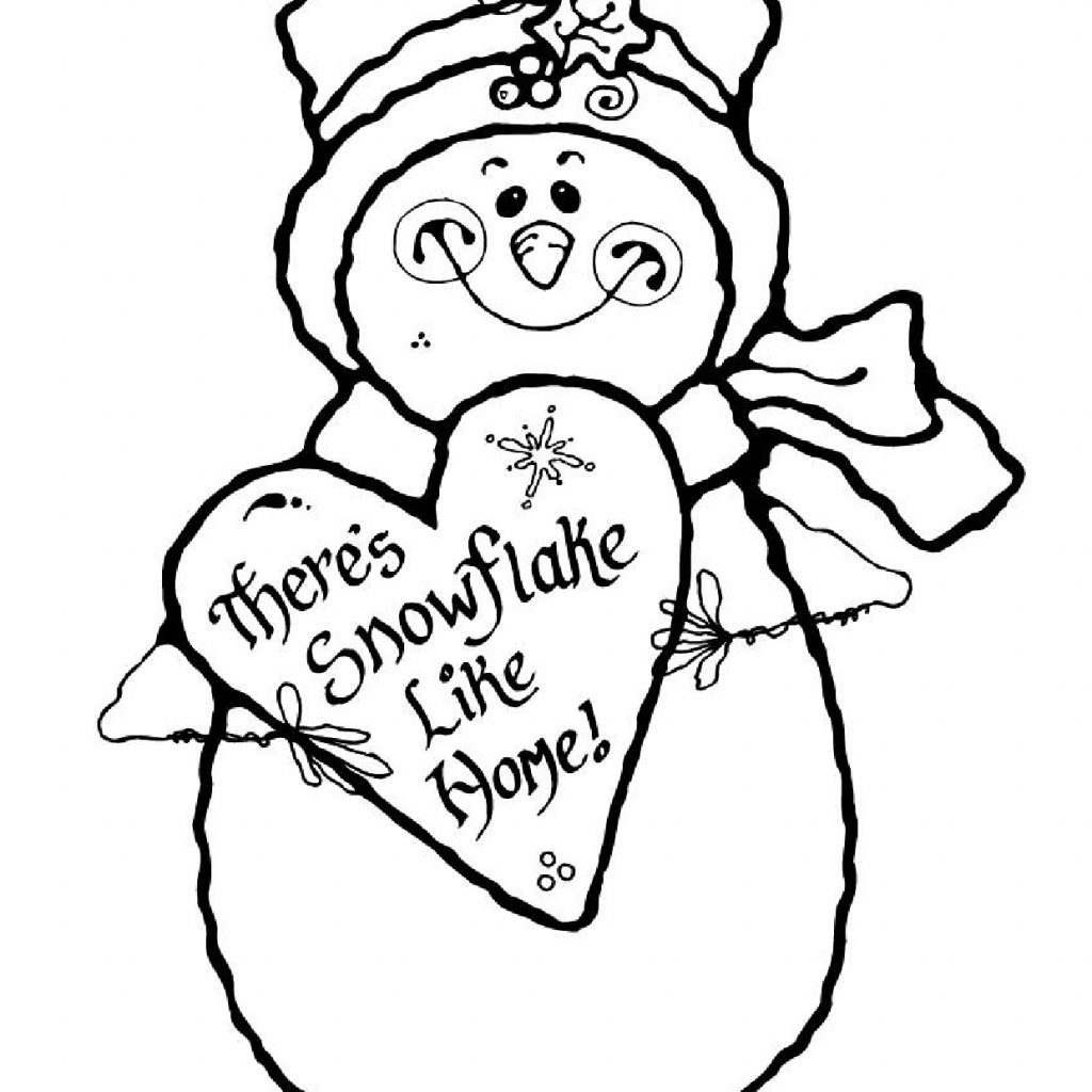 Christmas Coloring Downloads With Free Printable Pages 2