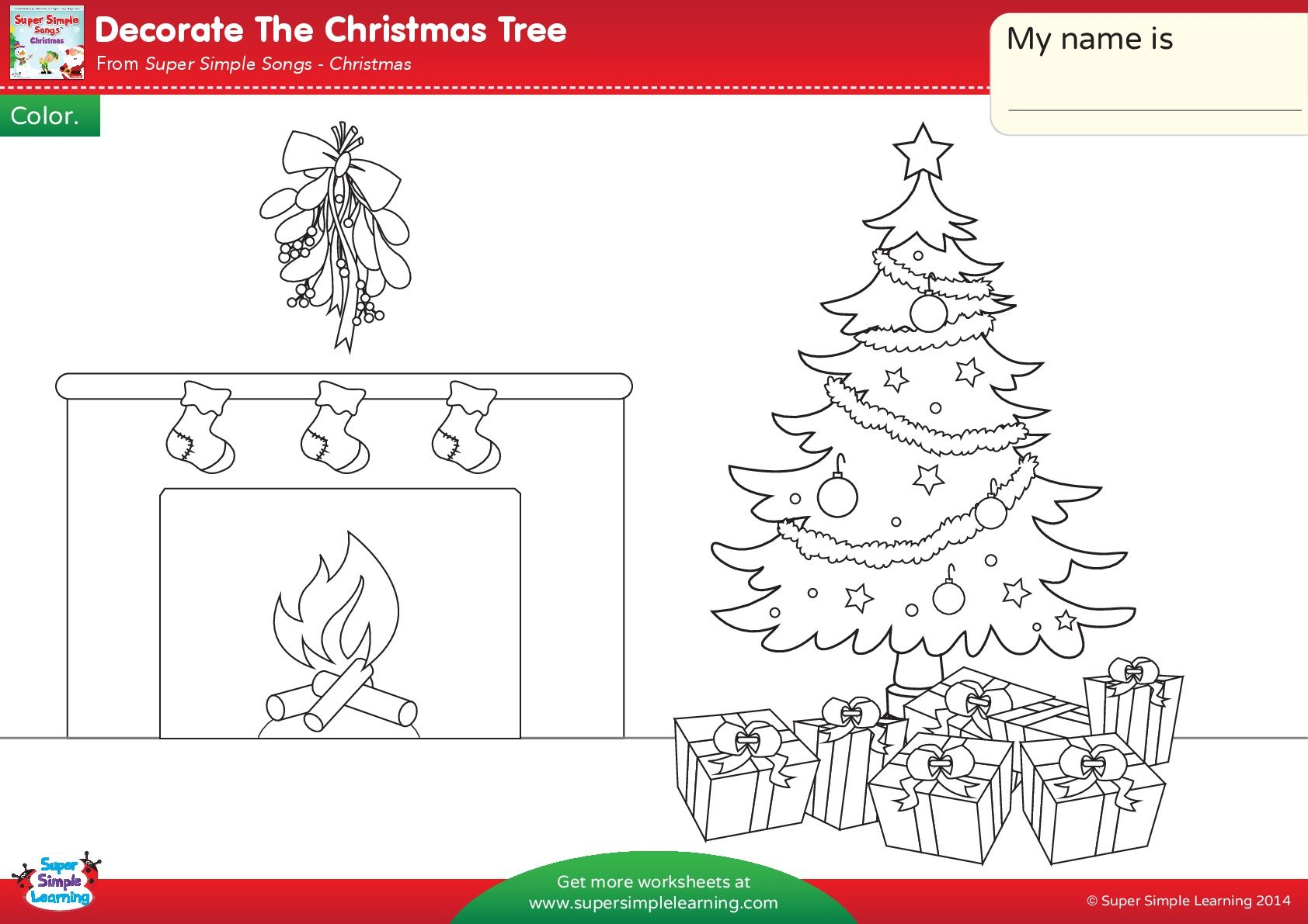 Christmas Coloring Esl With Pin By On Pinterest