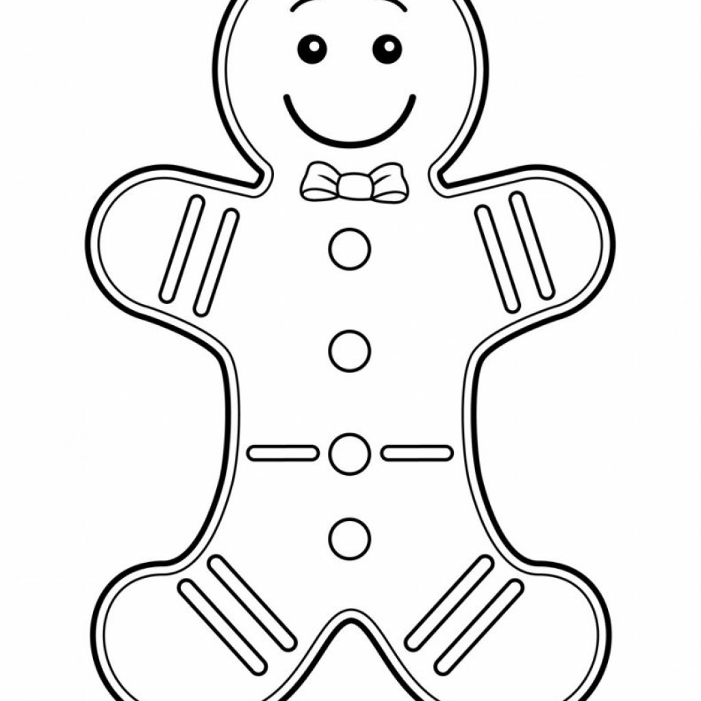 Christmas Coloring For Preschool With Pages Preschoolers Printable Page
