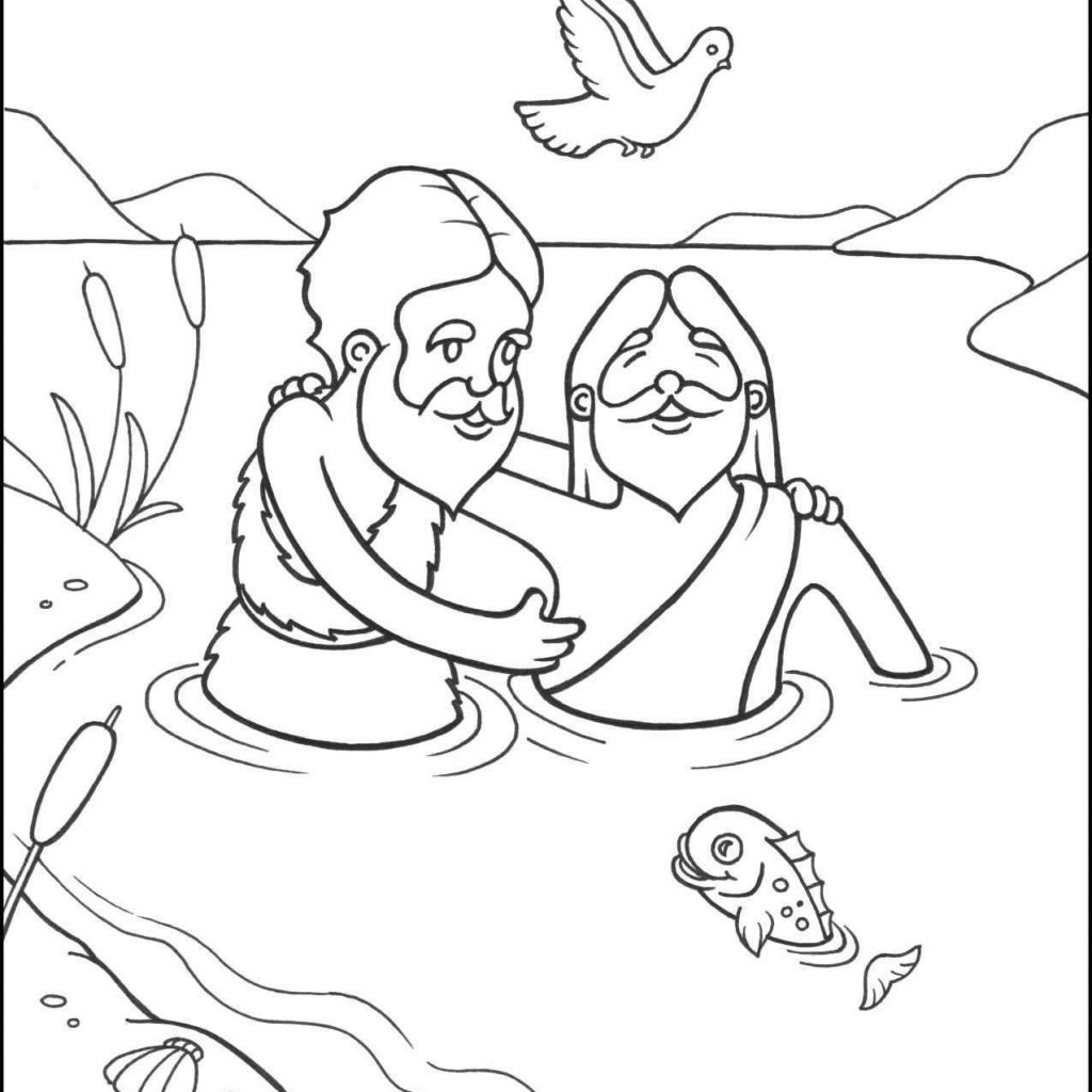 Christmas Coloring For Toddlers With 21 Pages Jesus Printable