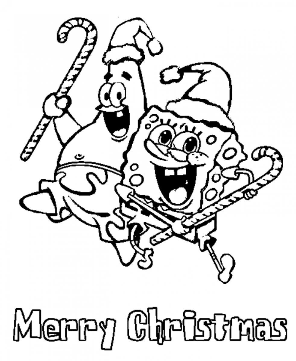 Christmas Coloring Free Download With Merry Pages To And Print For