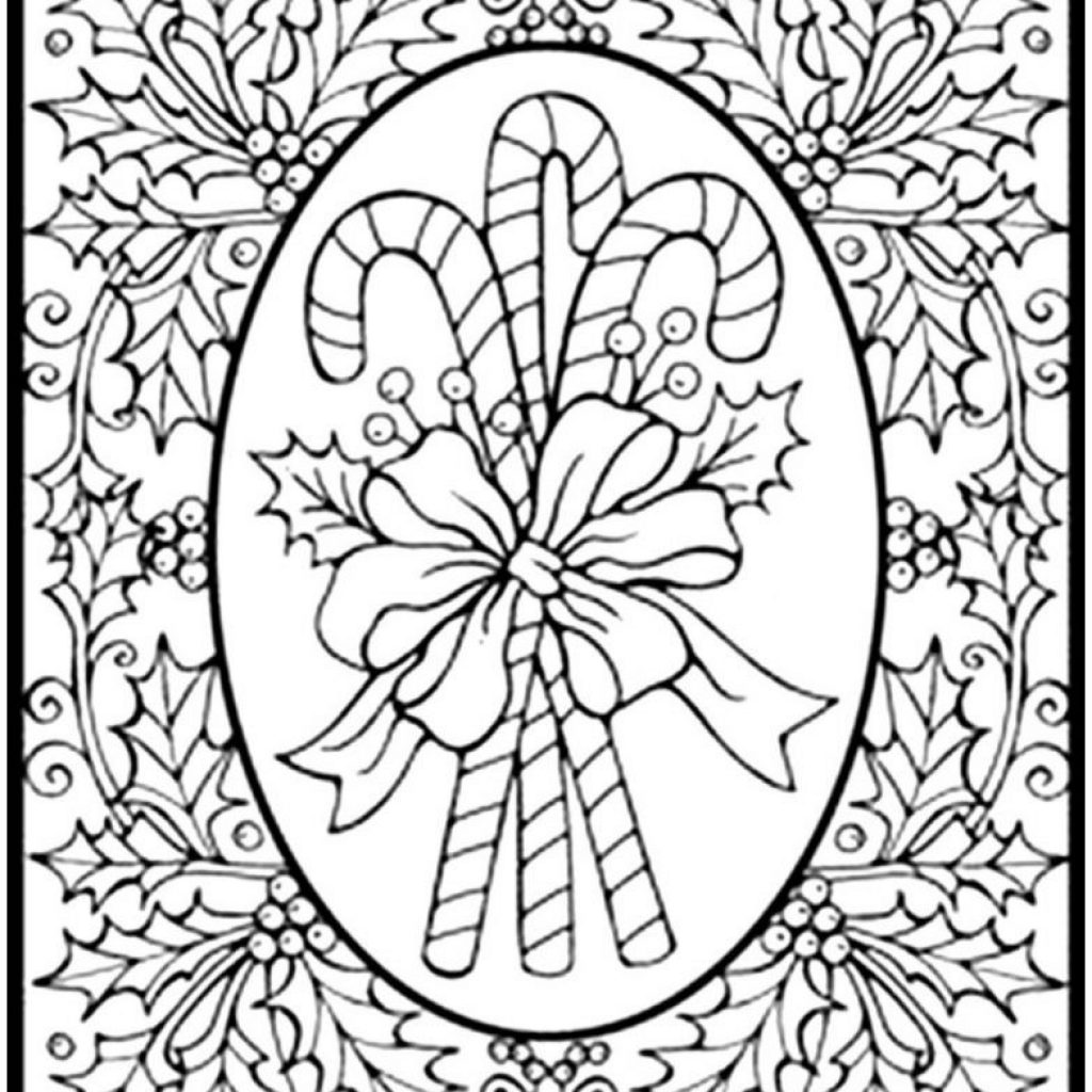Christmas Coloring Free Download With Pages For Adults Me
