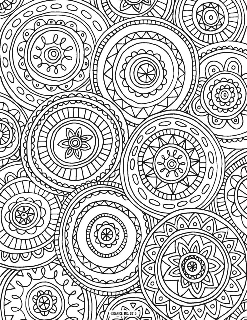 Christmas Coloring Free Printable Pages With Adult