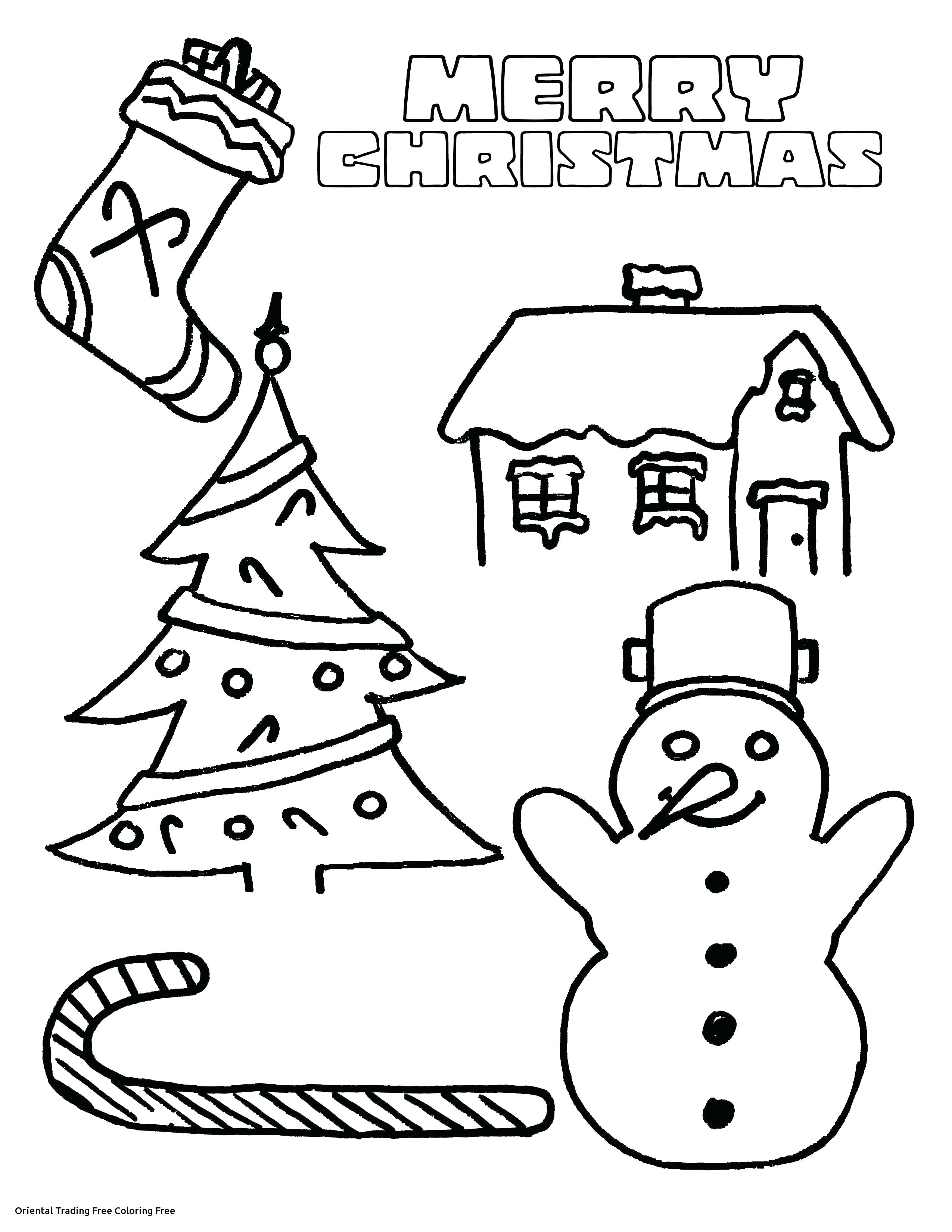 Christmas Coloring Free Printable Pages With Yintan Me