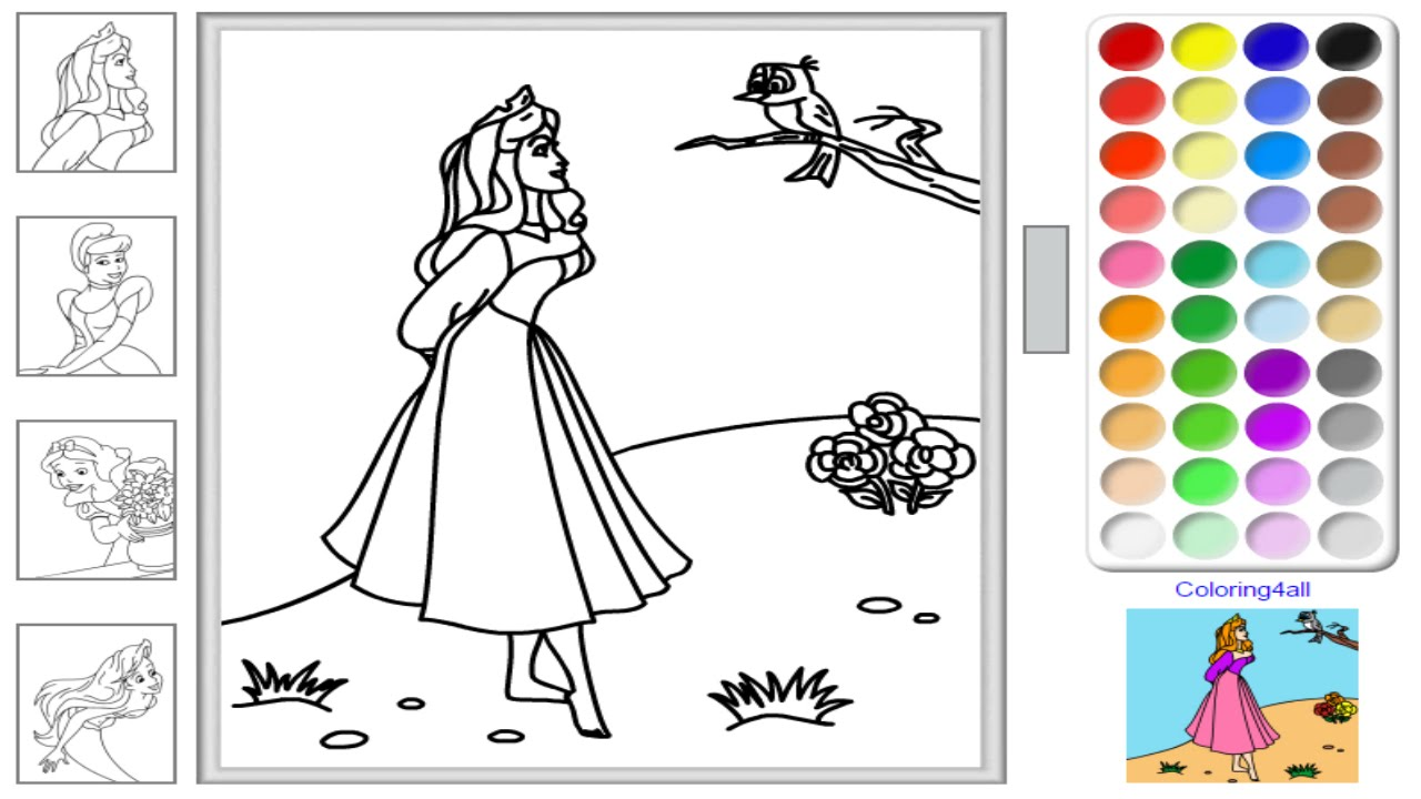Christmas Coloring Games Online Free With Disney Princess Pages