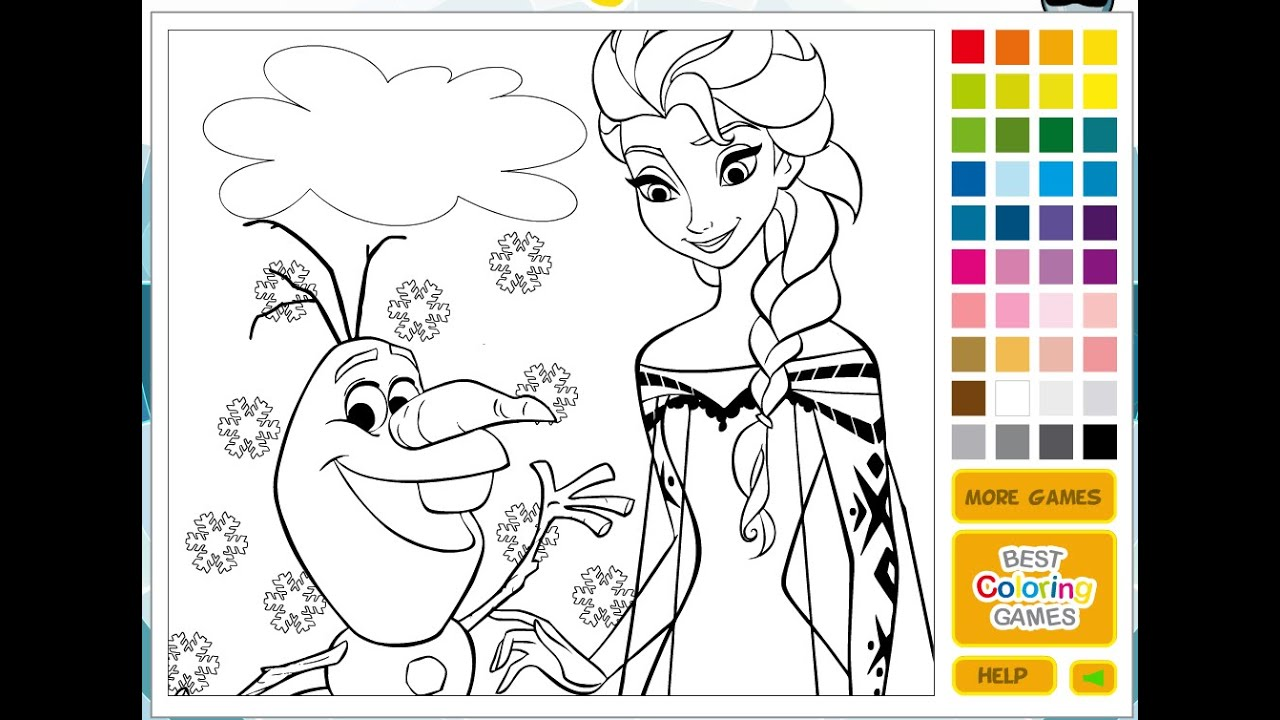 Christmas Coloring Games To Play Online With Disney Princess Pages For