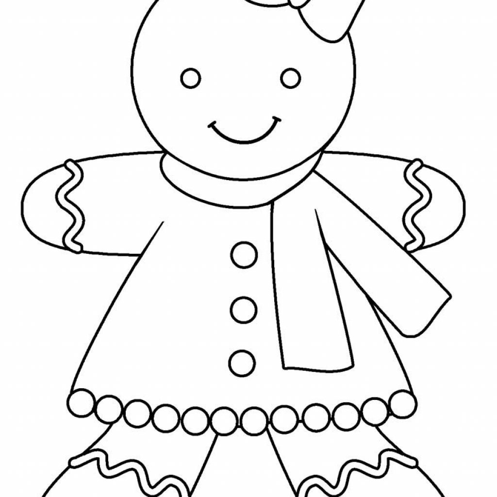 Christmas Coloring Gingerbread Man With Pin By Chrissy Geboe On Pages Pinterest