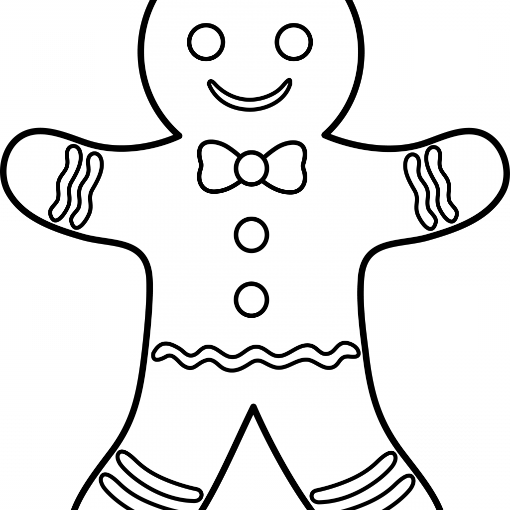 Christmas Coloring Gingerbread Man With Pin By Lesa Nicholson On Ideas Pinterest