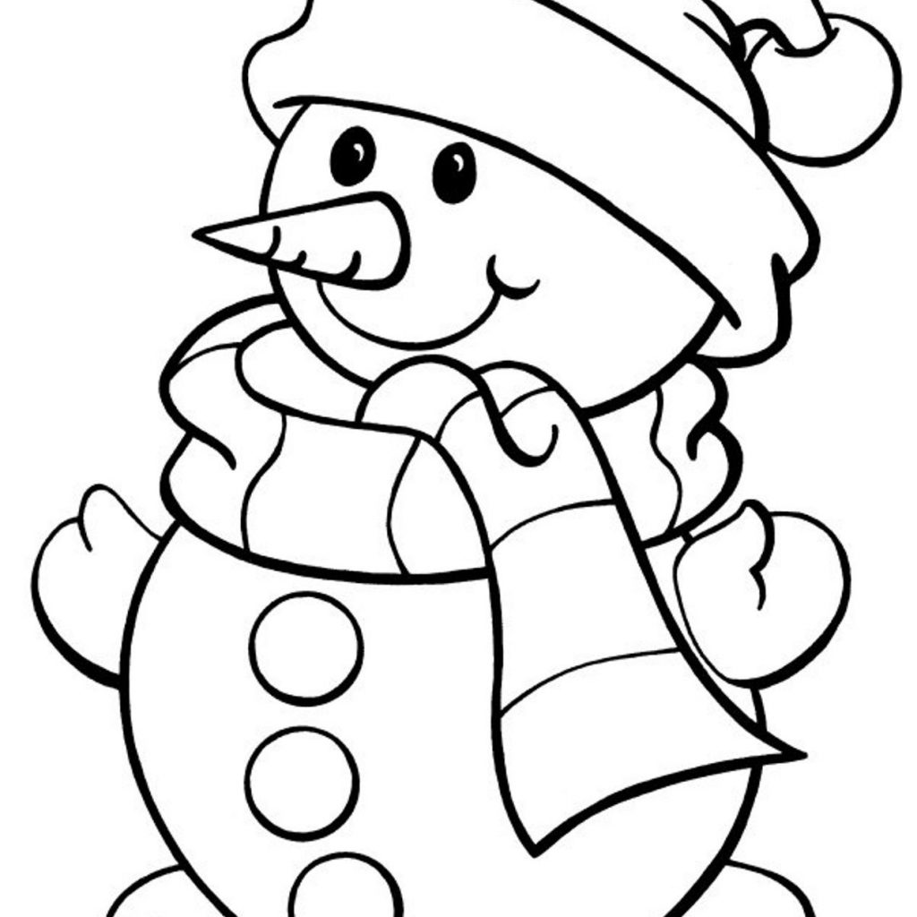 Christmas Coloring Hat With Winter Pages Google Search Party Pinterest