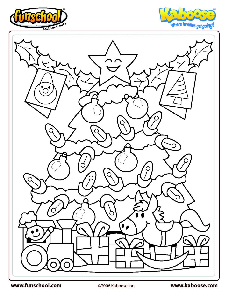 Christmas Coloring Hidden Pictures With Kindergarten Color Byddition Worksheets Free Pages