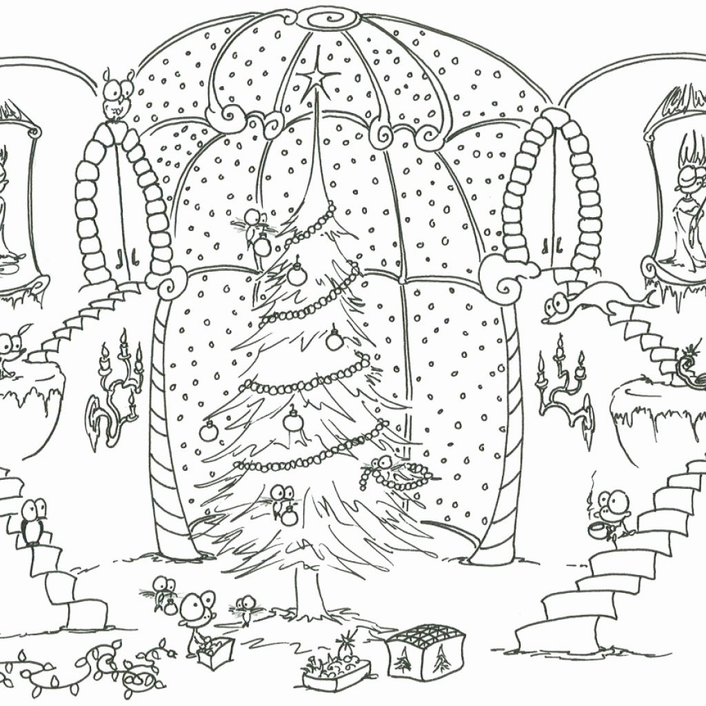 Christmas Coloring Ideas With Free Printable Pages Nativity