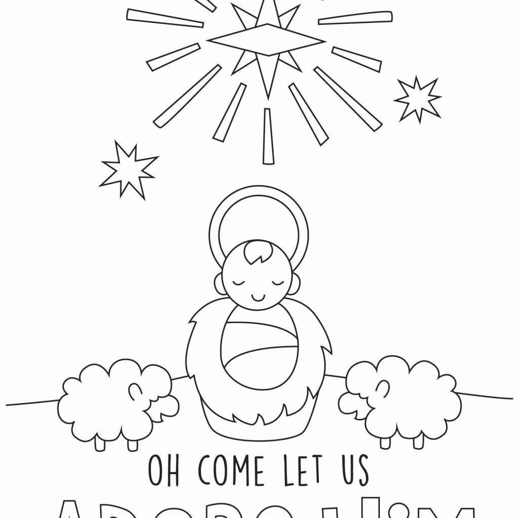 Christmas Coloring In Cards With Prayer Is Good