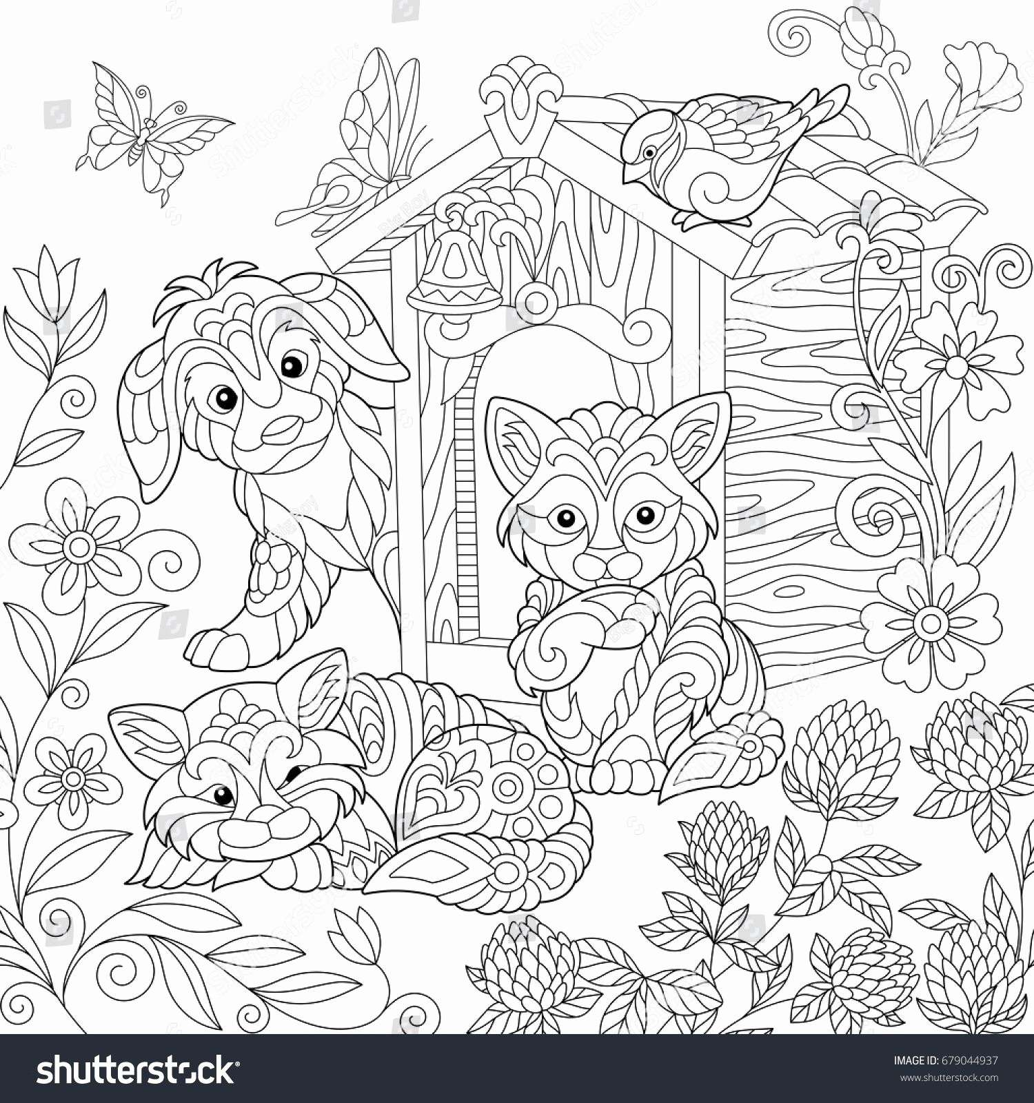 Christmas Coloring In Online With Pages