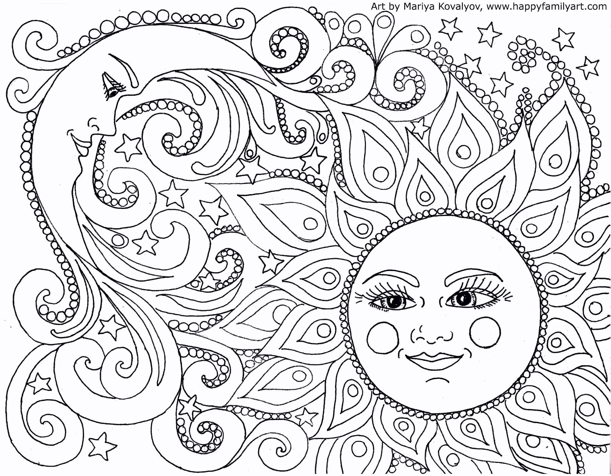 Christmas Coloring In Pages Printable With Free Drawing Pictures