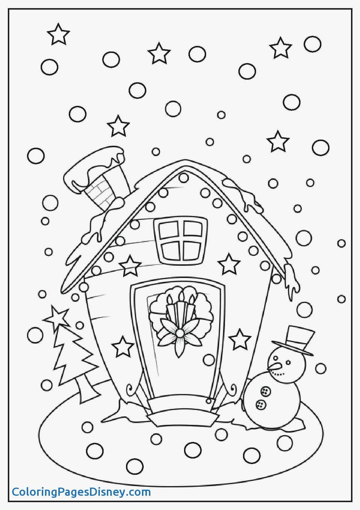 Christmas Coloring In Pictures To Print With Pages Disney