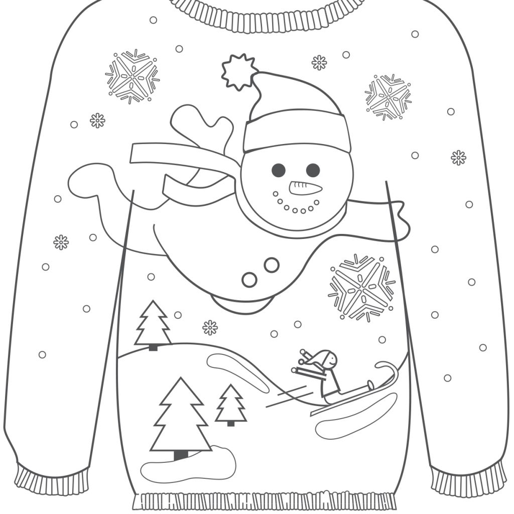 Christmas Coloring In Sheets With Ragstock