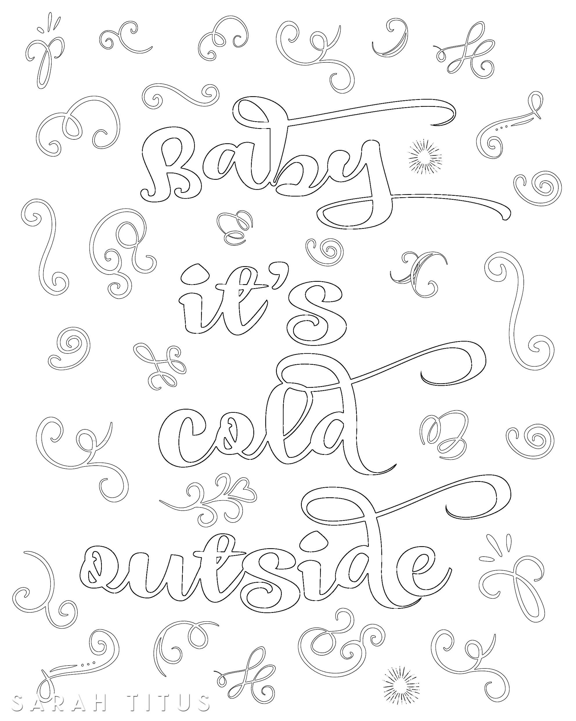 Christmas Coloring In Templates With Free Printable Sheets Sarah Titus