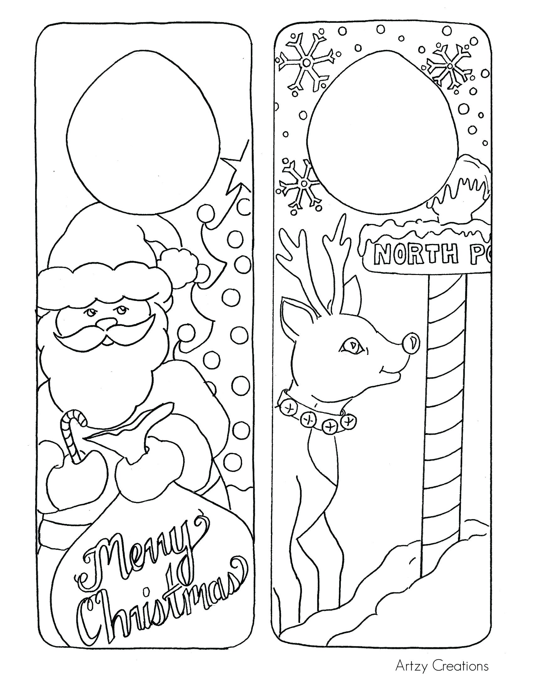 Christmas Coloring Kindergarten With Collection Of Pages For Students