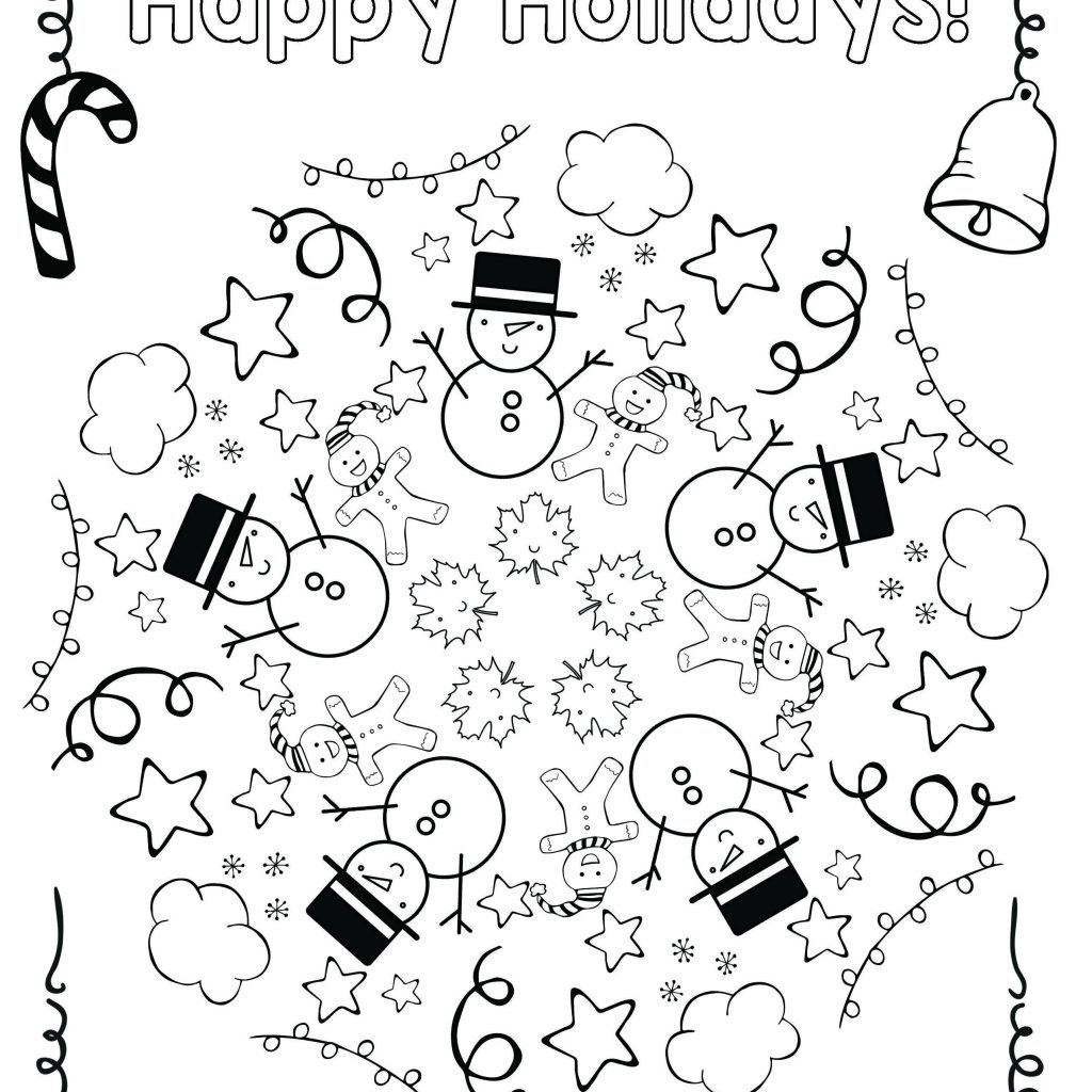 Christmas Coloring Mandala With Free Holiday Cool School Educational Ideas