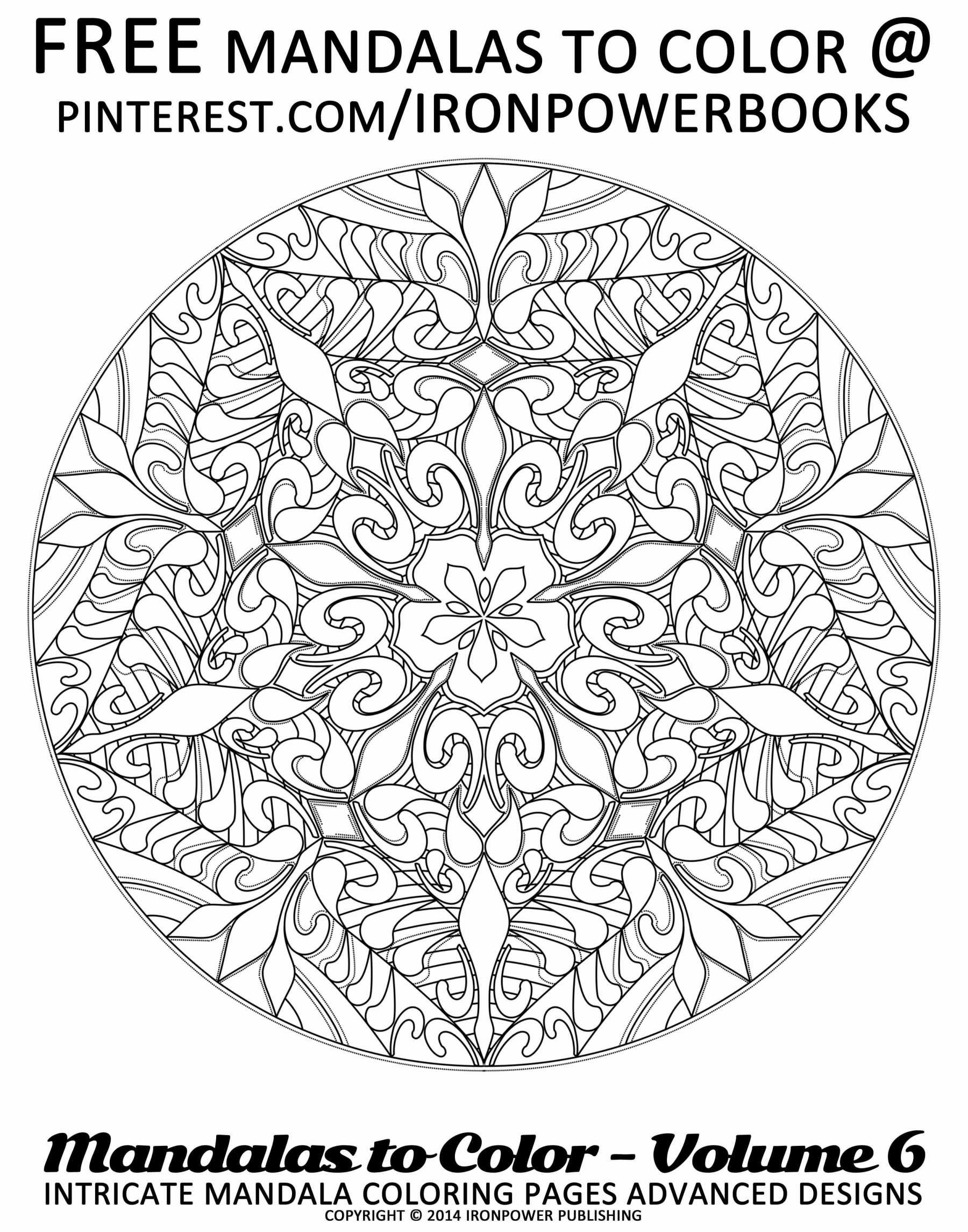 Christmas Coloring Mandala With Pages Printable