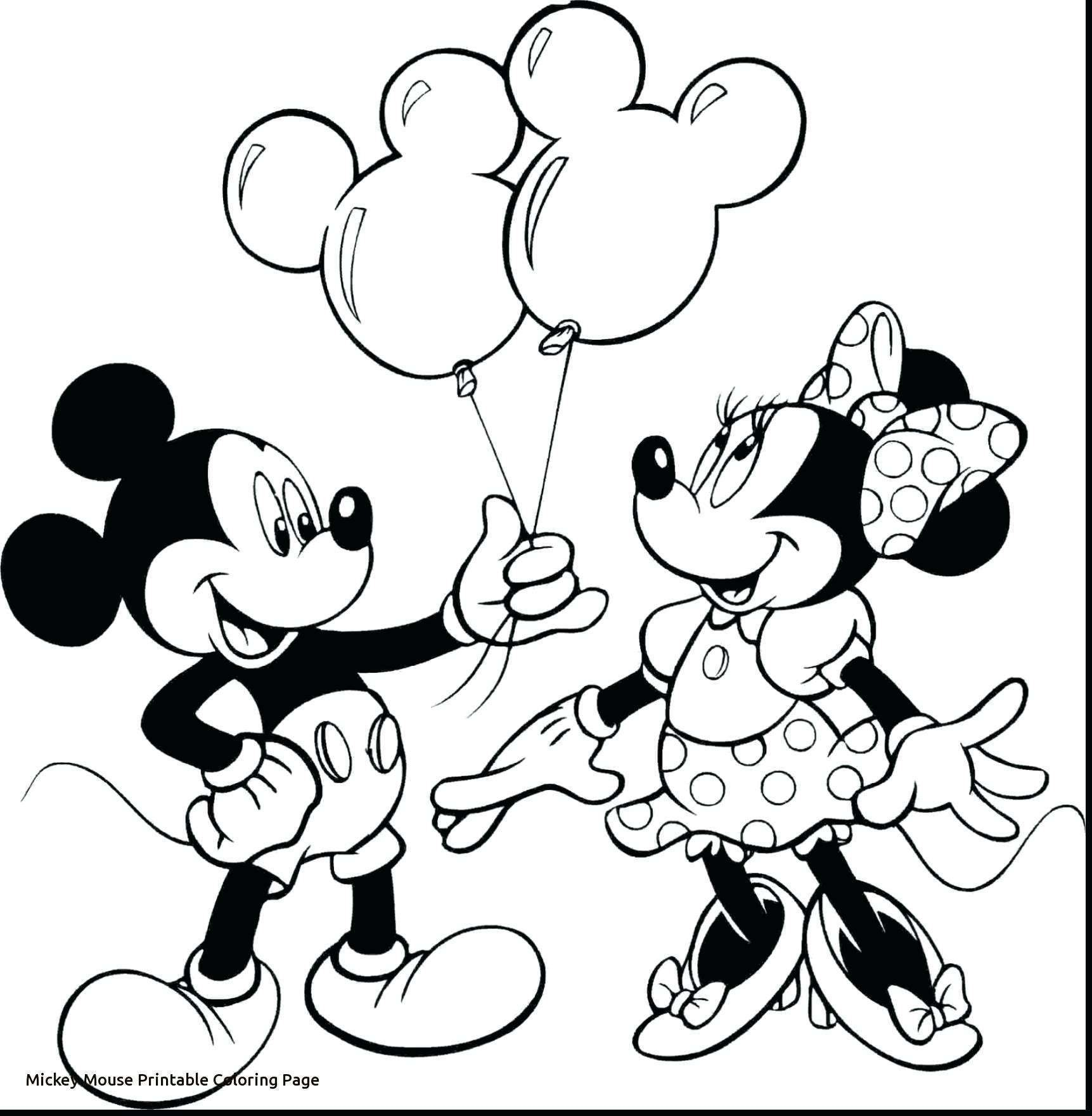 Christmas Coloring Mickey Mouse With Refrence