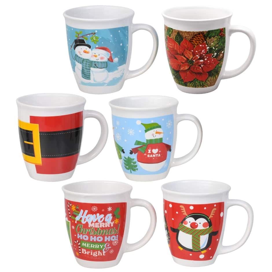 Christmas Coloring Mugs With Dollar Tree Inc