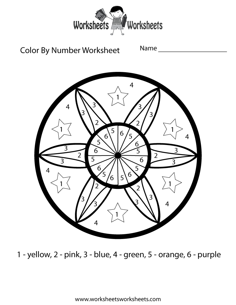 Christmas Coloring Multiplication Worksheets With Color By Number Math Worksheet Printable Fun
