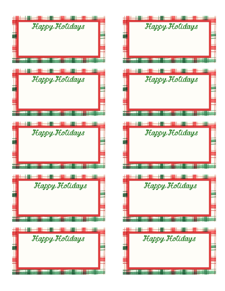 Christmas Coloring Name Tags With Best Photos Of Gift Printable Templates Free