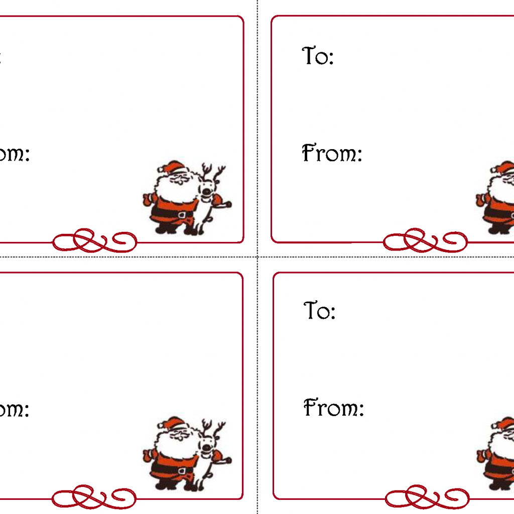 Christmas Coloring Name Tags With Free Printable Template Printables
