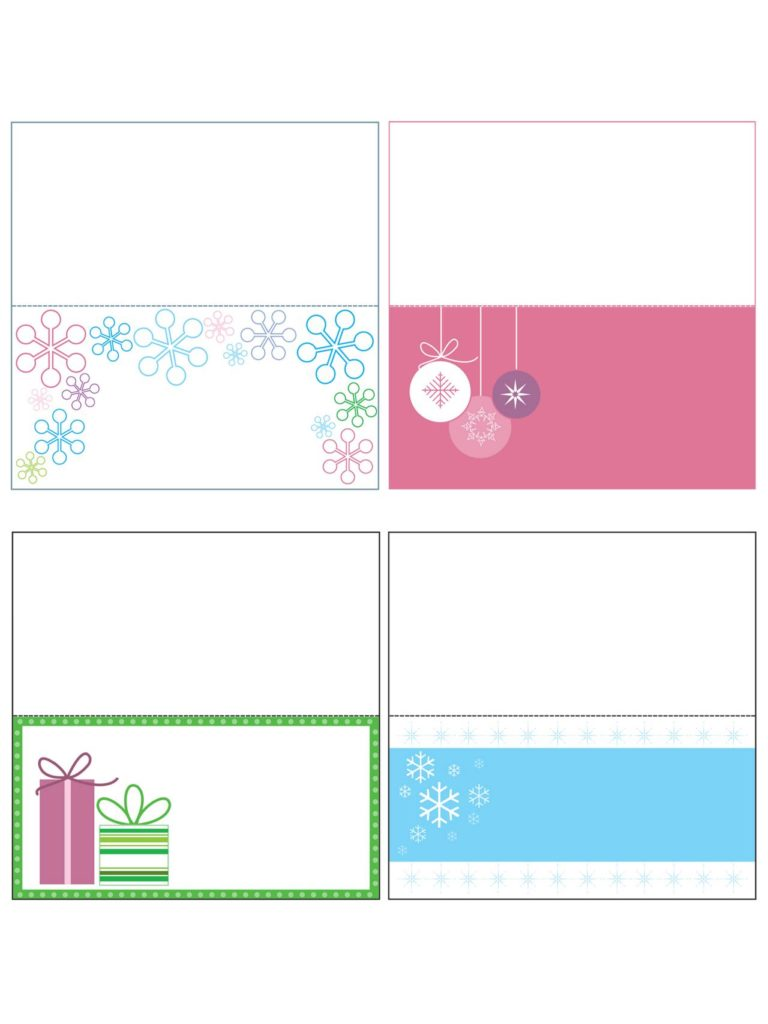 Christmas Coloring Name Tags With Free Templates Printable Gift Cards Crafts More