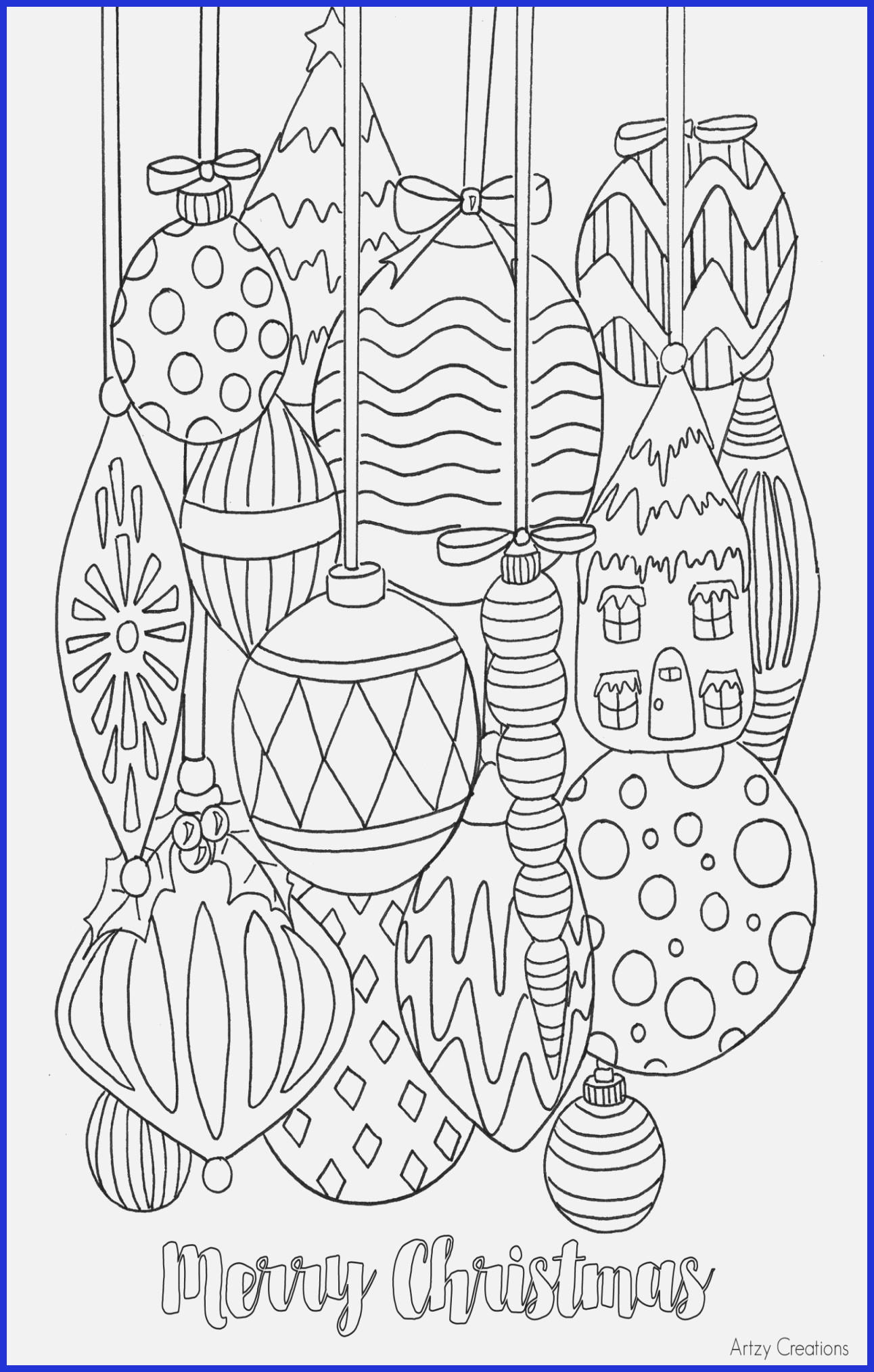 Christmas Coloring Numbers With Color By Pages Number