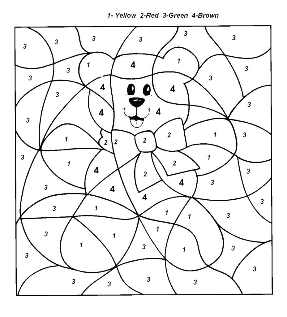Christmas Coloring Numbers With Unique Of Color By Number Pages Gallery Printable