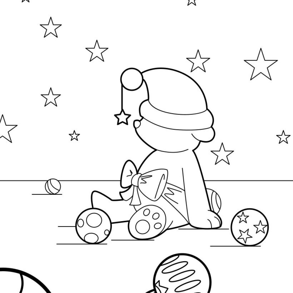 Christmas Coloring Online Free Games With Teddy Bear Pages Kids Crafts And Activities