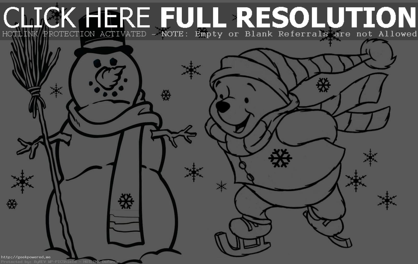 Christmas Coloring Online With Free Pages Printable Geekpowered