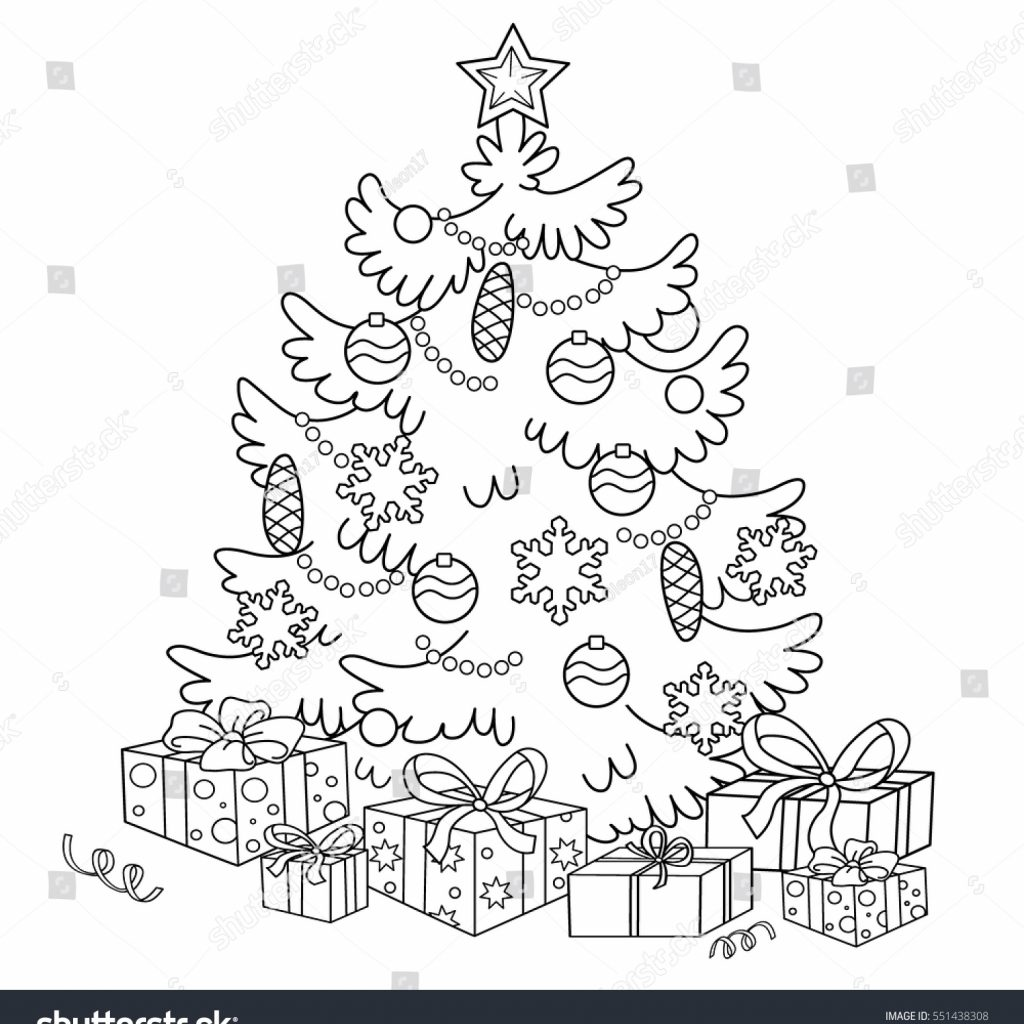 christmas-coloring-outline-with-page-cartoon-tree-stock-vector-royalty